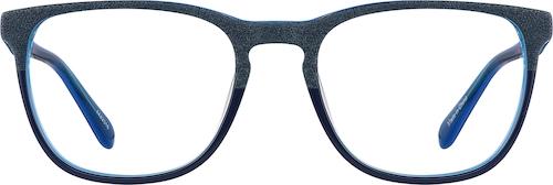Midnight Square Glasses