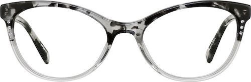 Gray Cat-Eye Glasses