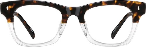 Translucent Square Glasses