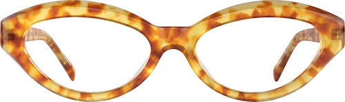 Amber Cat-Eye Glasses