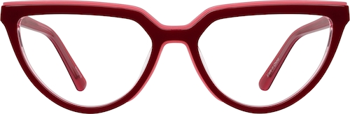 Cherry Cat-Eye Glasses