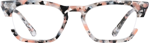Rhodonite Cat-Eye Glasses