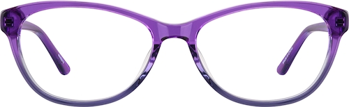 Grape Oval Glasses