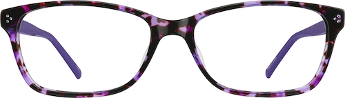 Purple Rectangle Glasses