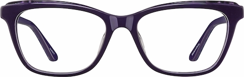 Eggplant Cat-Eye Glasses