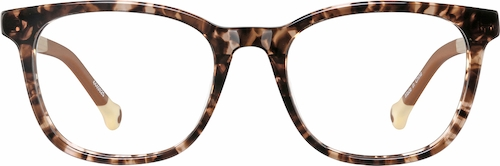Tortoiseshell Kid's Square Glasses
