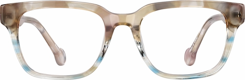 Beachside Kids' Square Glasses