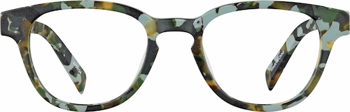 Camouflage Kids' Square Glasses