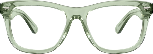 Green Bolinas Eyeglasses