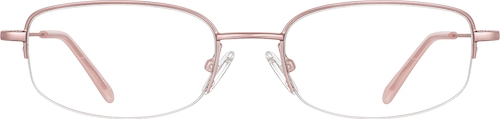 Pink Rectangle Glasses
