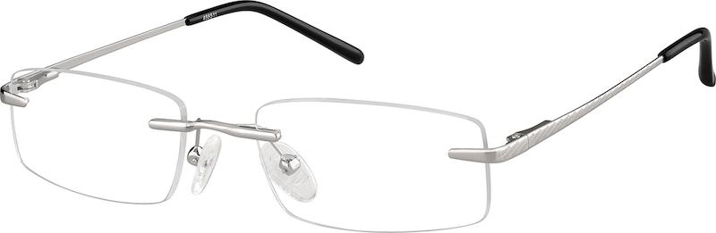 c2db646295db Silver Rimless Glasses #466511