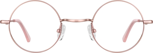 Rose Gold Round Glasses