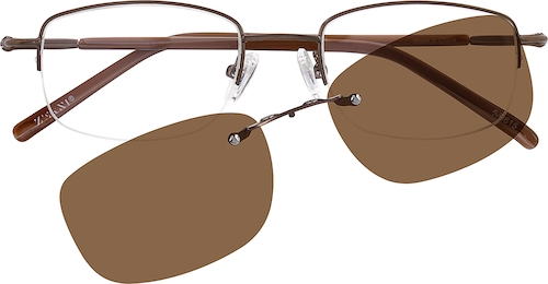 Brown Polarized Magnetic Snap-on