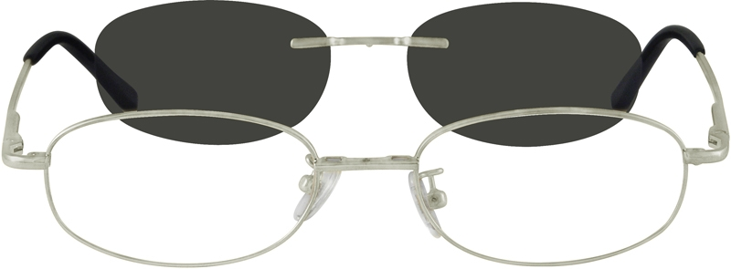 15f421297e5 Metal Alloy Spring Hinge Frame with Polarized Magnetic Snap-on Sunlens  584311