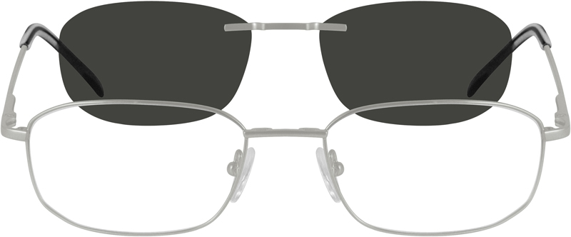 66d25227dbe18 Metal Alloy Spring Hinge Full-Rim Frame with Polarized Magnetic Snap-on  Sunlens 586611