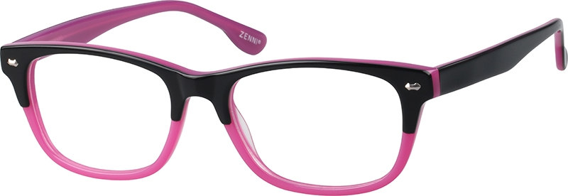 Purple Acetate Full-Rim Frame #621417