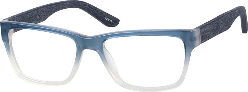 18c864ca399 Blue Rectangle Glasses  622212