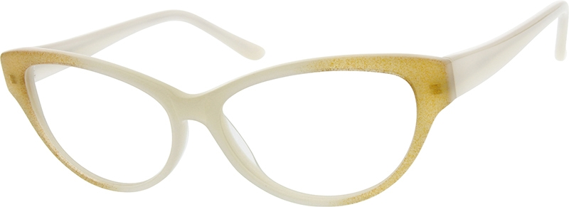533d58e2ed1 Cream Cat-Eye Glasses  628223