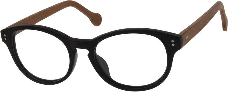 6992984dd49 Black Round Glasses  629021