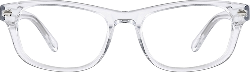 Translucent Rectangle Glasses