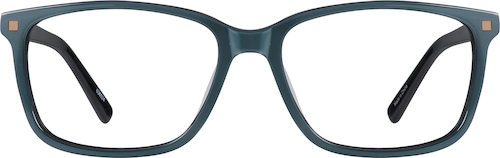 Blue Square Glasses