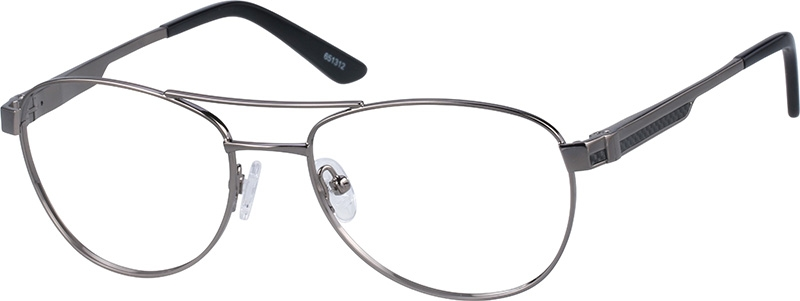 e5842ef2086 Gray Aviator Glasses  651312