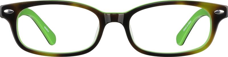 5aad1734003 Green Kids  Rectangle Glasses  660824