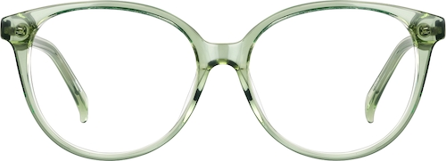 Green Round Glasses