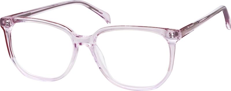 Pink Acetate Full-Rim Frame #662919