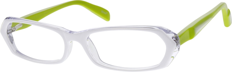 efa4d58f22 White Children s Flexible Acetate Frame With Spring Hinges  666230