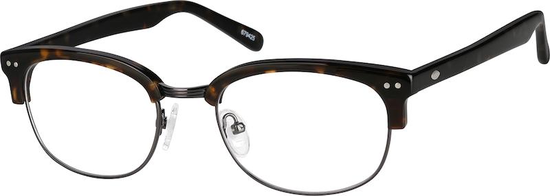 Black Browline Eyeglasses #679421