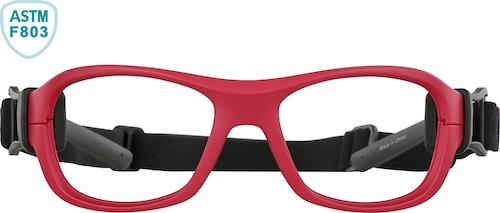 Red Kids' Sport Protective Goggles