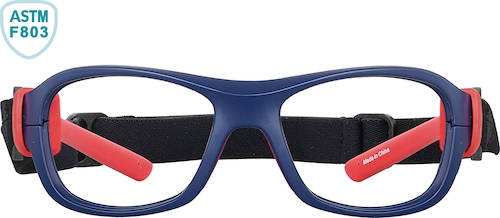 Red Sox Red & Blue Kids' Sport Protective Goggles