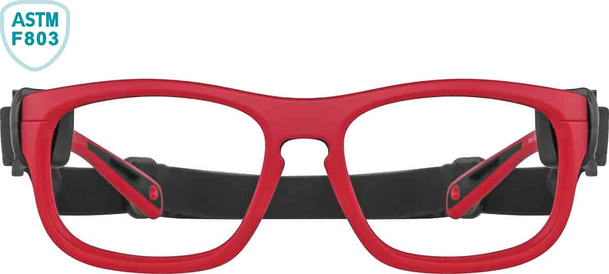 Bulls Red and Black Sport Protective Goggles