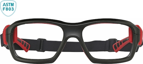 Bulls Black and Red Sport Protective Goggles