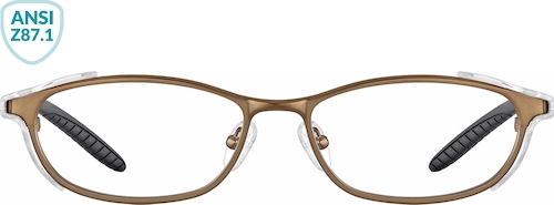Copper Z87.1 Safety Glasses