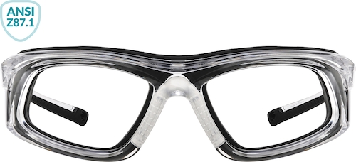 Black Z87.1 Safety Glasses