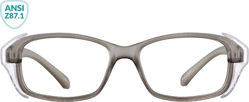 Gray Z87.1 Safety Glasses