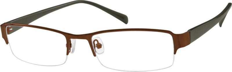 97f00f27223e8 Brown Rectangle Glasses  761315