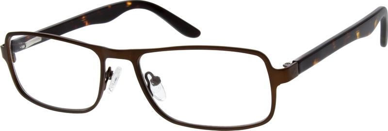 ef7fba9ed1 Brown Rectangle Glasses  769515