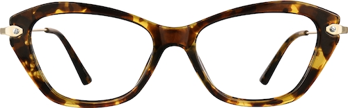 7801125 Women's Cat-Eye Tortoiseshell Eyeglasses