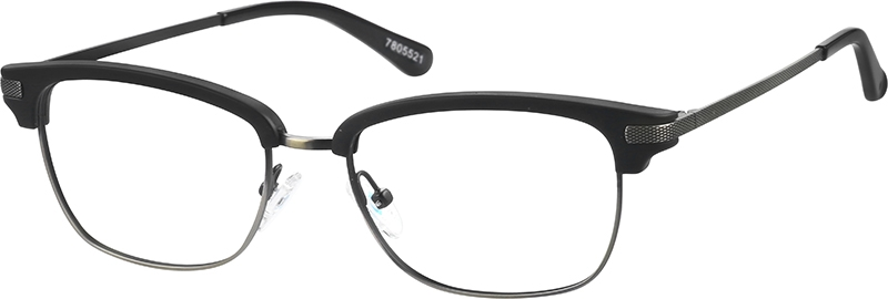 4148b070c1a Black Browline Glasses  7805521