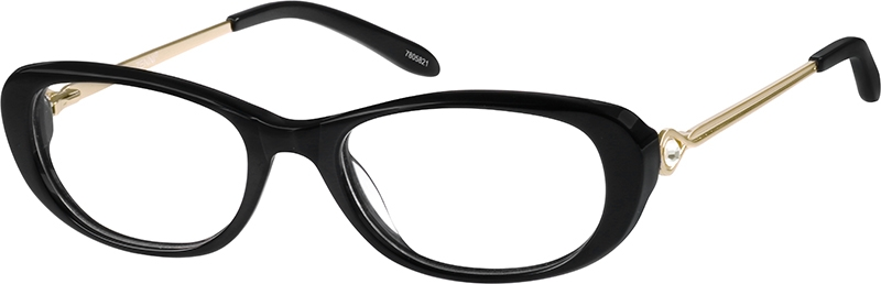 d29360df1d2 Black Oval Glasses  7805821