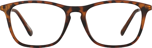 Tortoiseshell Kids' Square Glasses