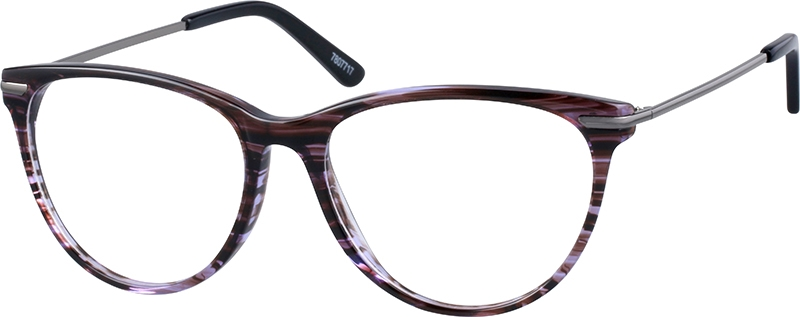 eec63ffaa0 Purple Cat-Eye Glasses  7807717