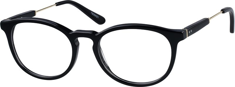 55888f14296 Black Oval Glasses  7809421