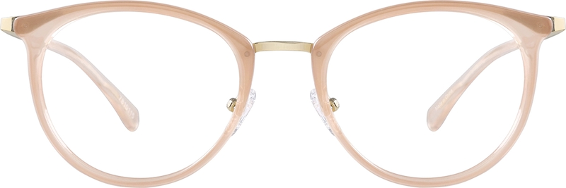 Brown Round Glasses #7810115