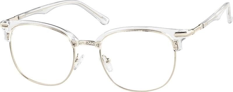 770cbdeff5 Browline Glasses 7810723. Previous. sku-7810723 eyeglasses angle view ...