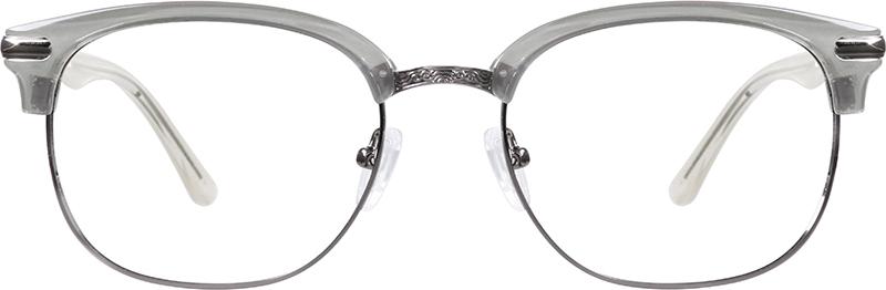 35dcdb6f6f3 Gray Browline Glasses  7811012