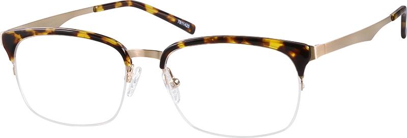 fc1e3e18560c Tortoiseshell Browline Glasses  7811425